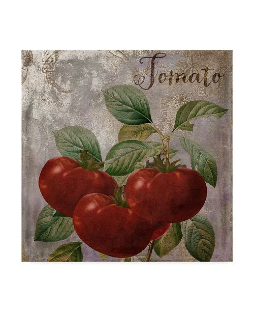 """Trademark Global Color Bakery 'Medley Gold Tomato' Canvas Art - 14"""" x 14"""" x 2"""""""