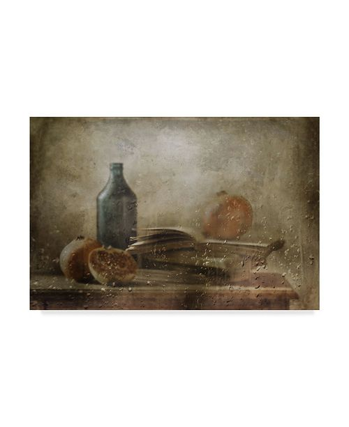 "Trademark Global Delphine Devos 'The Green Bottle' Canvas Art - 32"" x 2"" x 22"""