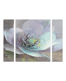"Albena Hristova 'Jump Iii' Multi Panel Art Set Large 3 Piece - 44"" x 44"" x 2"""