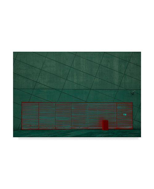 "Trademark Global Inge Schuster 'Color Play' Canvas Art - 19"" x 2"" x 12"""