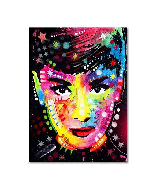 """Trademark Global Dean Russo 'Audrey' Canvas Art - 35"""" x 47"""" x 2"""""""