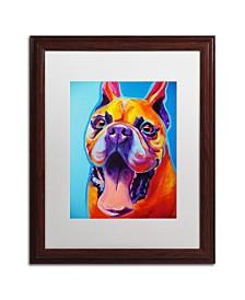"""DawgArt 'Tyson' Matted Framed Art - 16"""" x 20"""" x 0.5"""""""