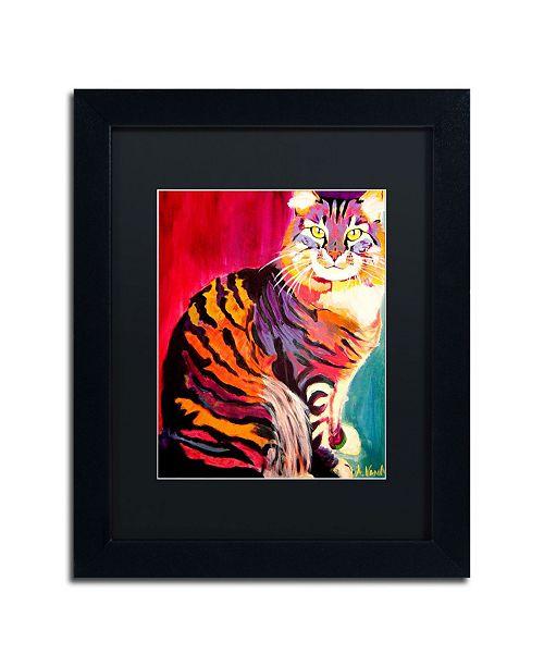 """Trademark Global DawgArt 'Guilley Cabil' Matted Framed Art - 14"""" x 11"""" x 0.5"""""""