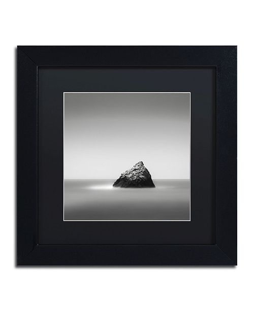"Trademark Global Dave MacVicar 'Pointed' Matted Framed Art - 11"" x 11"" x 0.5"""