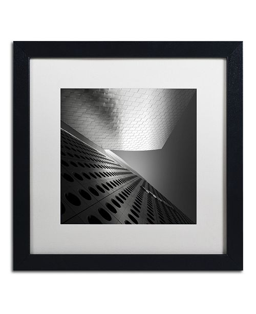 "Trademark Global Dave MacVicar 'Prada' Matted Framed Art - 16"" x 16"" x 0.5"""