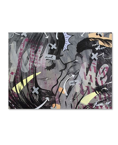 "Trademark Global Dan Monteavaro 'And Only' Canvas Art - 32"" x 24"" x 2"""
