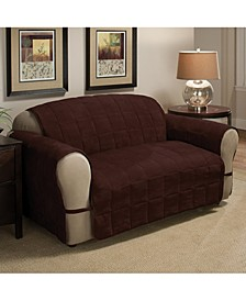 Faux Suede Ultimate Loveseat Protector