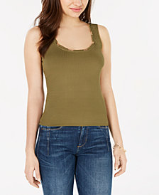 GUESS Lola Chain-Embellished Tank Top