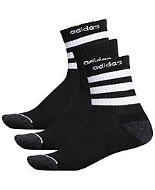 Men's 3-Pk. High Quarter Socks