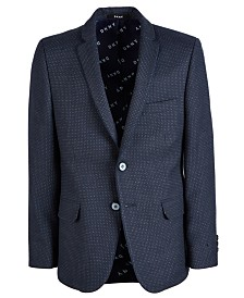 DKNY Big Boys Diamond-Dot Sport Coat