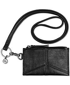 Silverlake Leather ID Lanyard, Created for Macys