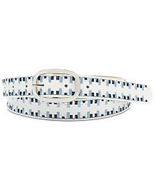 I.N.C. Laced Edge Belt, Created for Macy's