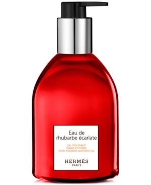 HERMES-Eau-de-Rhubarbe-Ecarlate-Hand-Body-Cleansing-Gel-10-oz-