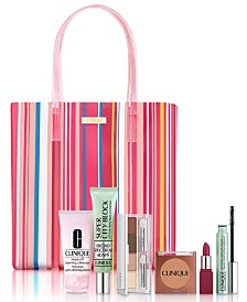 Clinique Beach Bag Essentials- Only $29.50 with any Clinique purchase (A $132.50 Value!)