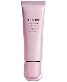 Shiseido White Lucent Day Emulsion Broad Spectrum SPF 23, 1.7-oz.