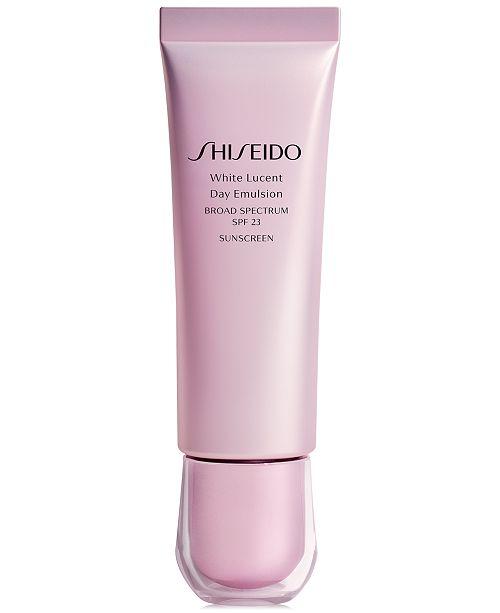Shiseido White Lucent Day Emulsion Broad Spectrum SPF 23, 1.7-oz.