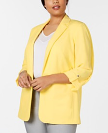 08f7c89ca43ef Women s Plus Size Work Clothes - Macy s