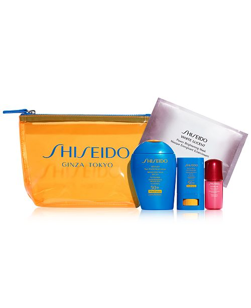Shiseido 5-Pc. Protect & Play Active Sun Set
