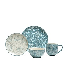Mums 16 Piece Dinnerware Set