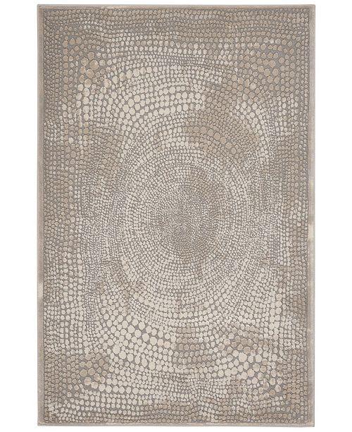 "Safavieh Meadow Ivory and Gray 3'3"" x 5' Area Rug"
