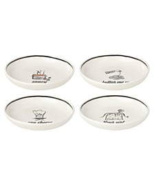 kate spade new york There's A-MorePasta Bowls Set of 4