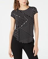 fb390691e3e Short Sleeve Womens Tops - Macy s