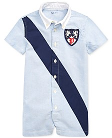 Polo Ralph Lauren Baby Boys Cotton Oxford Shortall