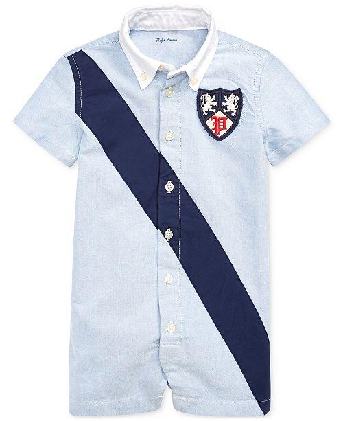 Polo Ralph Lauren Baby Boys Cotton Oxford Shortall