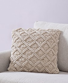 Dorothea Quilted 18x18 Pillow