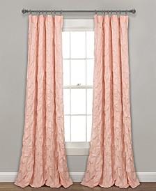 """Ravello Pintuck 52"""" x 84"""" Curtain Panel"""