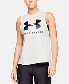 Sportstyle Relaxed Logo Tank Top