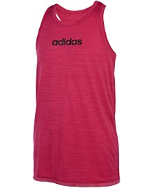 adidas Big Girls Crossover-Back Tank Top