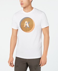 A|X Armani Exchange Men's Illusion Logo Graphic T-Shirt