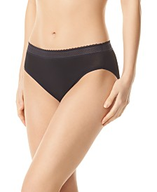 Warner's Women's Breathe Freely™ Lace Trim Hi-Cut Brief Underwear RT4901P