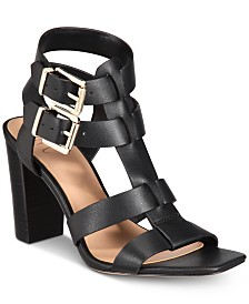 I.N.C. Women's Parkar Buckle Dress Sandals, Created for Macy's