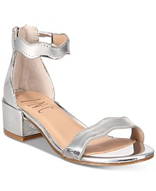 I.N.C. Little & Big Girls Hadwin Scallop Two-Piece Sandals, Created for Macy's