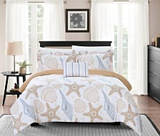 Chic Home Azure 8-Pc. Bedding Sets