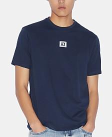 A X Armani Exchange Men's Two-Sided Logo T-Shirt
