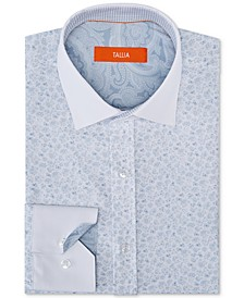 Men's Slim-Fit Floral Dress Shirt