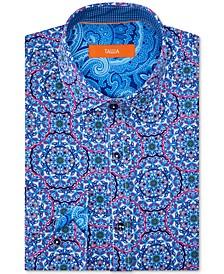 Men's Slim-Fit Performance Stretch Dress Shirt