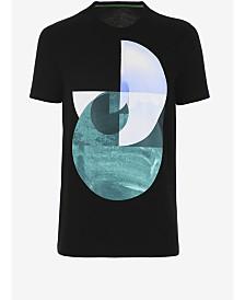 A|X Armani Exchange Men's Slim-Fit Geometric Graphic T-Shirt
