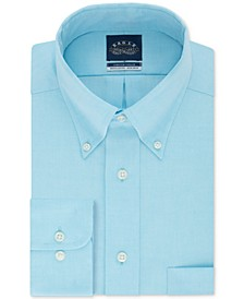 Men's Classic-Fit Stretch Collar Non-Iron Solid Dress Shirt