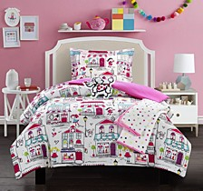 Kid's City 4 Piece Twin Comforter Set