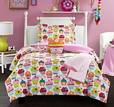 Tasty Muffin 4 Piece Twin Comforter Set