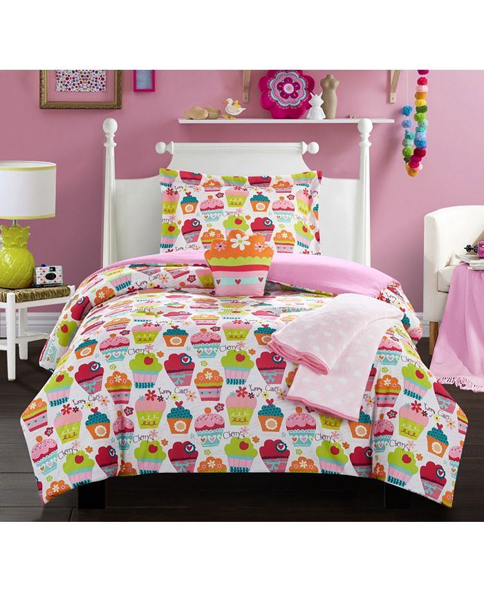 Chic Home - Tasty Muffin 5-Pc. Comforter Sets