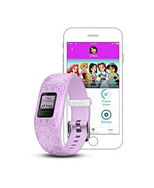 vívofit jr. 2 Disney Princess Kids Activity Tracker in Purple