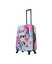 """Nikki Chalinau Sure 24"""" Hardside Spinner Luggage"""