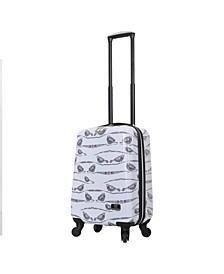 """Valerie Valerie Aubergine 20"""" Hardside Spinner Luggage"""