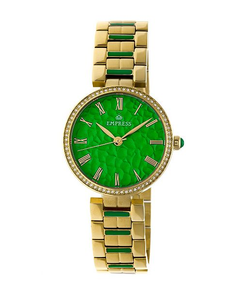 Empress Catherine Automatic Gold Stainless Steel Watch 36mm