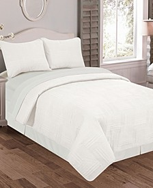 Fergie 3 Pc Queen Quilt Set